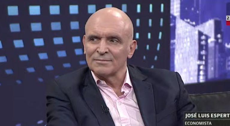 """José Luis Espert calificó de """"caradura"""" a Daniel Gollan"""
