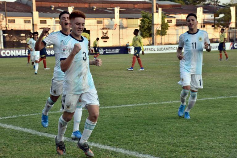 Hay futuro: Argentina goleó a Colombia y es finalista del Sudamericano Sub 15