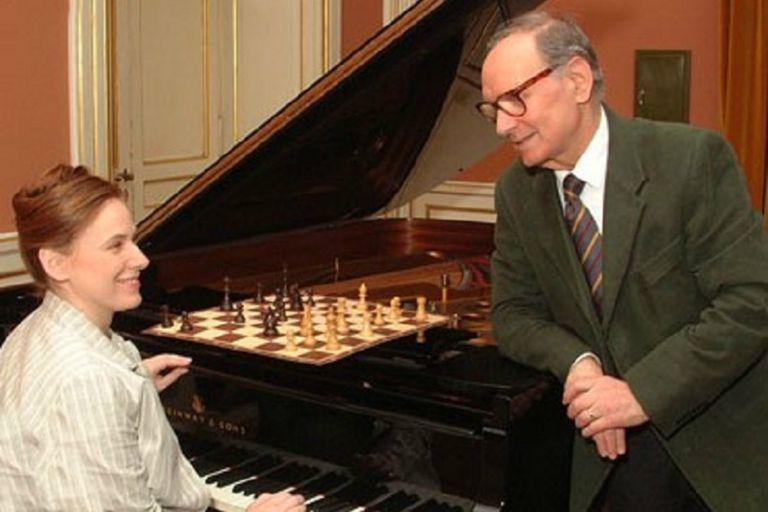 Ennio Morricone, la música y el ajedrez