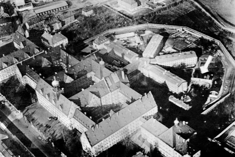 El Palacio de Justicia y la prisión de Núremberg habían sobrevivido el bombardeo aliado
