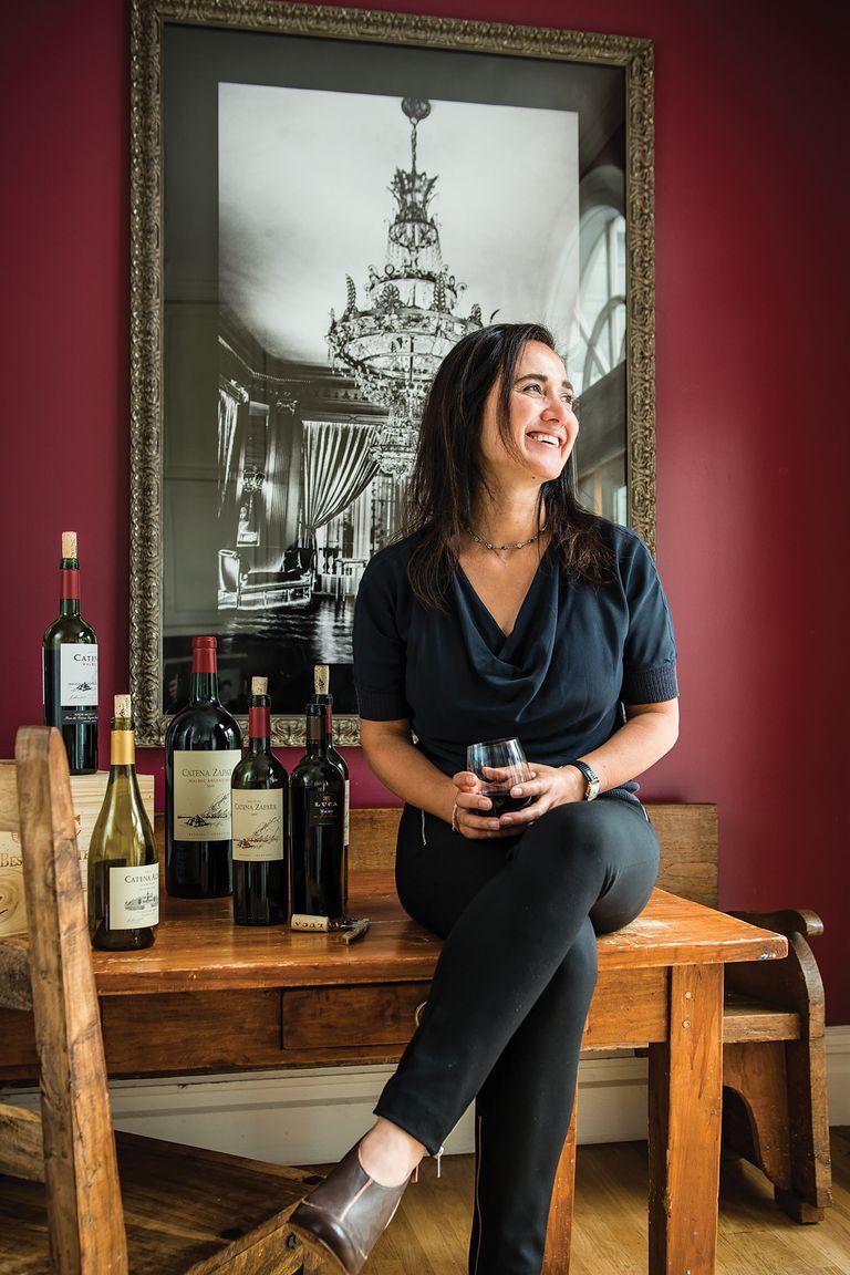 """""""Todo lo que afecta el sabor del vino es relevante"""", dice Catena, que tiene en cuenta suelo, clima y altura en el estudio"""