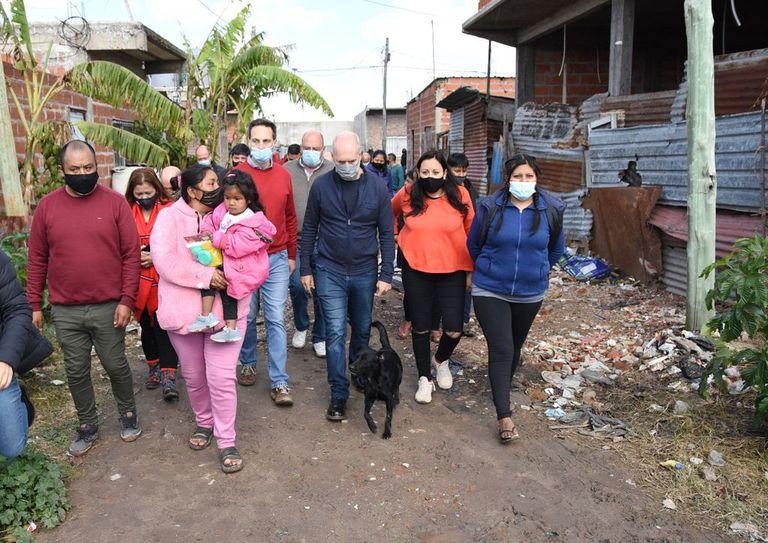 El operativo de Pro para llevar a Larreta a las villas del conurbano y disputarle el voto al kirchnerismo