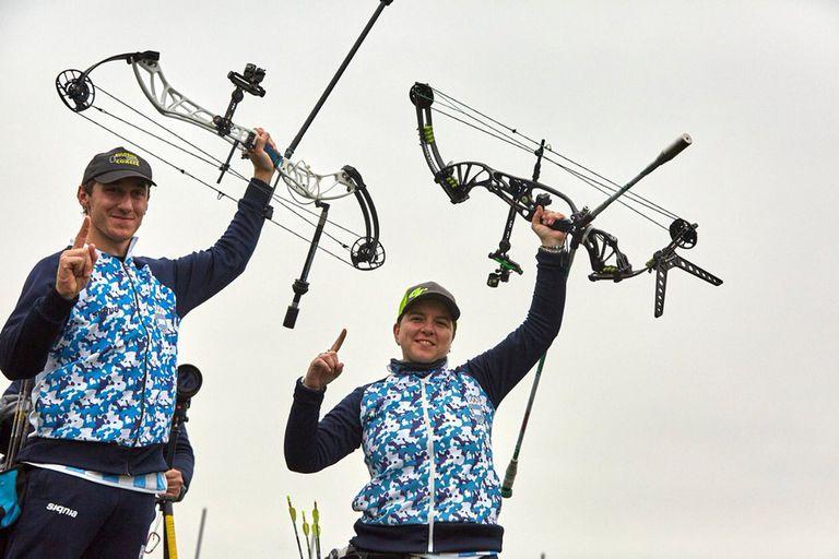 La pareja de tiro con arco; un oro que llegó sin la intervención del COA