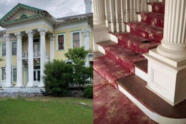 Una mansión ubicada en Nashville, Estados Unidos, fue recorrida por un grupo de exploradores urbanos que compartieron las imágenes en TikTok