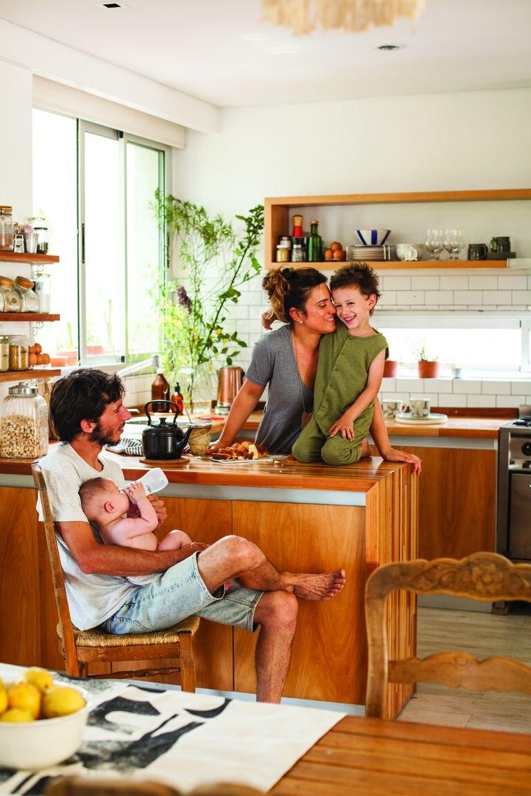 La cocina, un espacio para disfrutar.