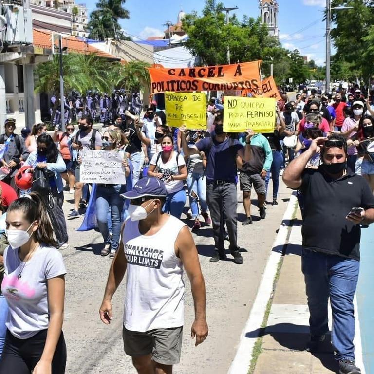 Este sábado, los formoseños volvieron a salir a la calle, pese a regir el Aislamiento, Social, Preventivo y Obligatorio en la capital de la provincia