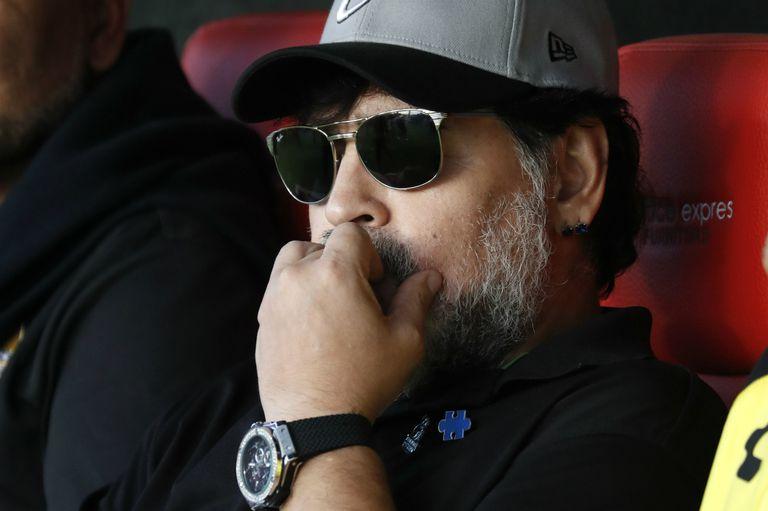 Otra frustración para Maradona: su equipo perdió la final por el ascenso