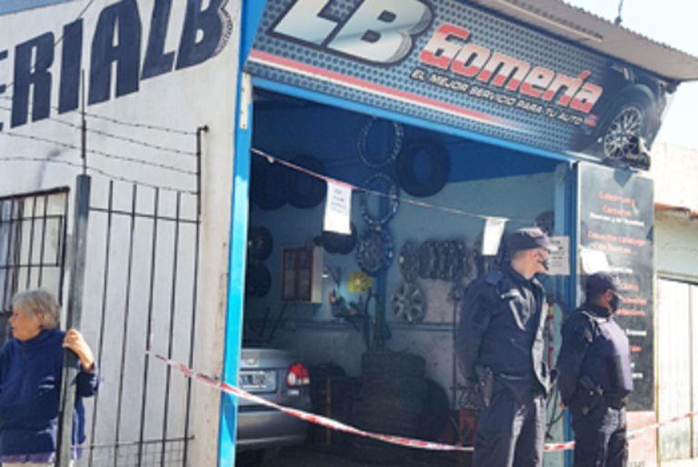 Zárate: balean al dueño de una gomería cerca de donde mataron al gendarme