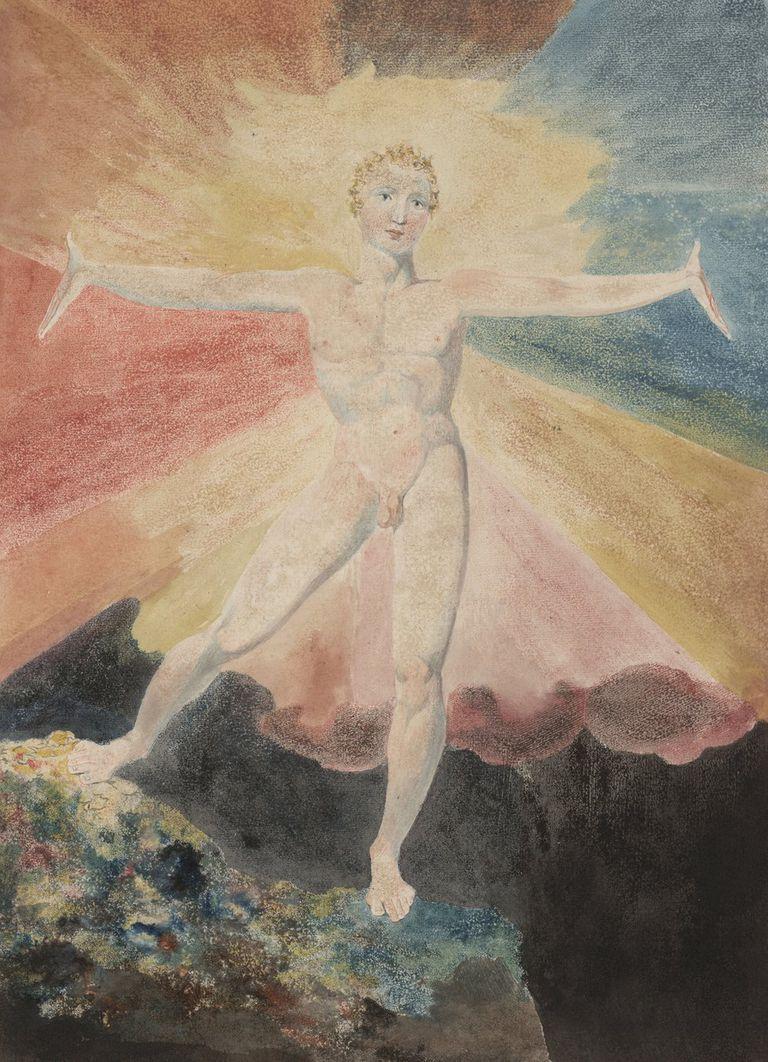 Albión Rosa de William Blake, hacia 1793