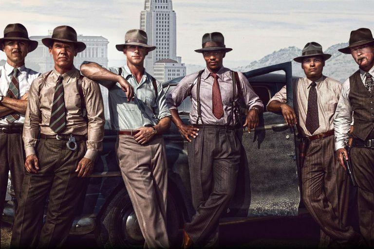 Los muchachos de Fuerza antigángster, comandados por Ryan Gosling