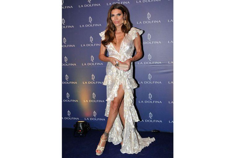 El look de Florencia de la V para la gala de polo