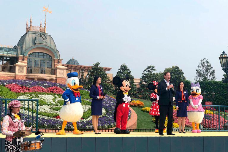 Coronavirus. Disney reabre su parque de diversiones en China
