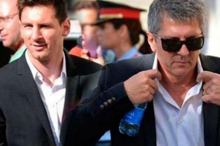 Jorge Messi, uno de los actores principales del conflicto entre su hijo y Barcelona