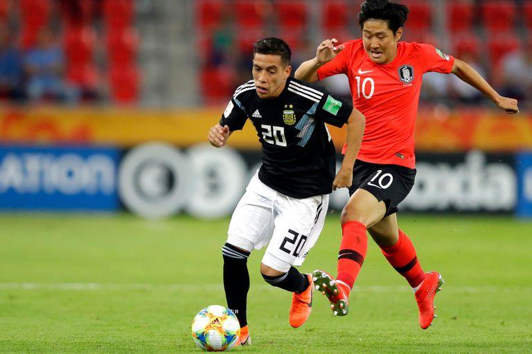 Mundial Sub 20. Pese a la derrota con Corea del Sur, la Argentina ganó el grupo