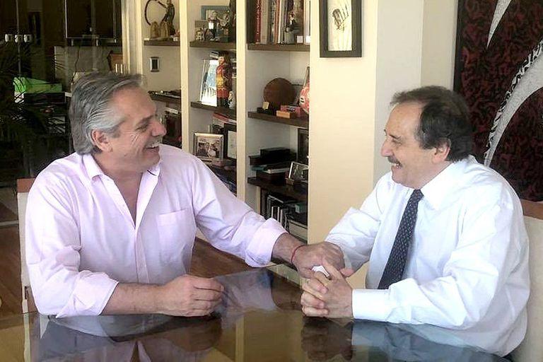 Fernández y Alfonsín se reunieron en noviembre
