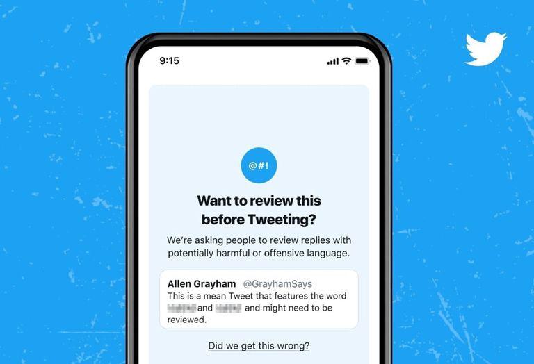 En Android y iOS y por ahora solo en inglés: nada de malas palabras y otras expresiones potencialmente ofensivas en Twitter