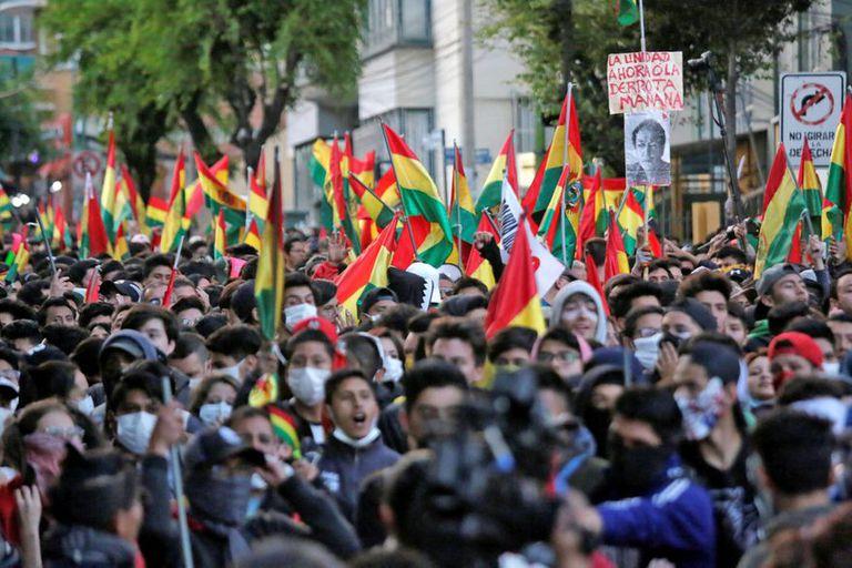 Miles de personas en las movilizaciones de 2019