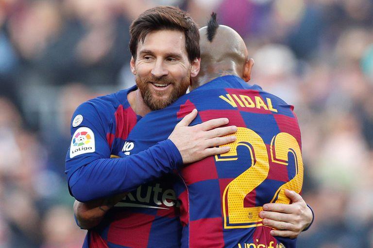 Un recital con cuatro goles: la magia de Messi le dio el triunfo a Barcelona