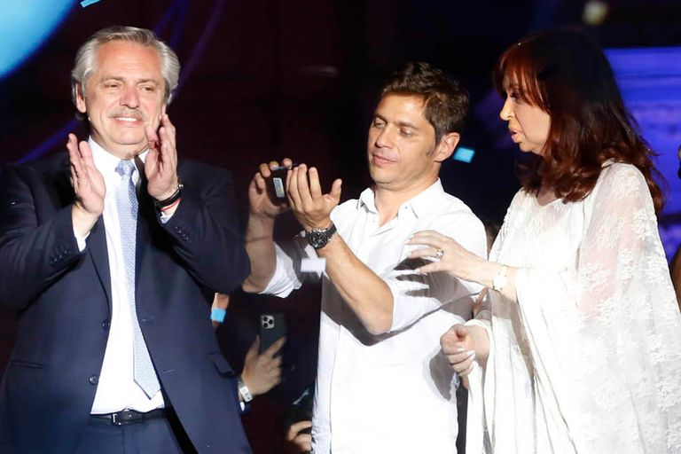 Kicillof negó que haya diferencias en el Frente de Todos