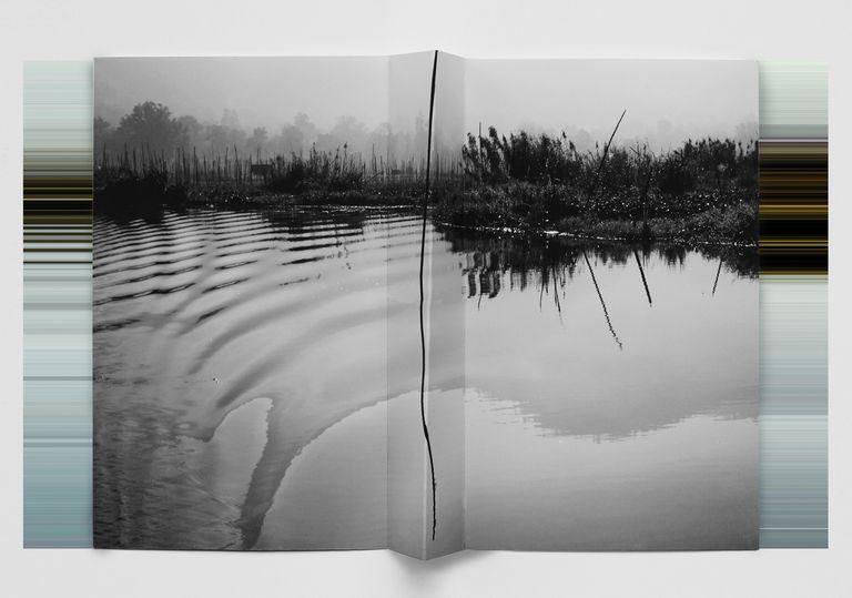 """Una de las fotos de la serie """"Paisaje sobre paisaje"""", de Andrea Alkalay"""