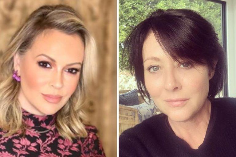 """Alyssa Milano se reconoció """"culpable en gran parte"""" de su mala relación con Shannen Doherty"""