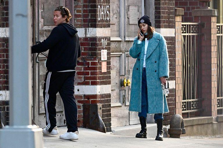 Irina Shayk y Vito Schnabel juntos en las calles de Nueva York