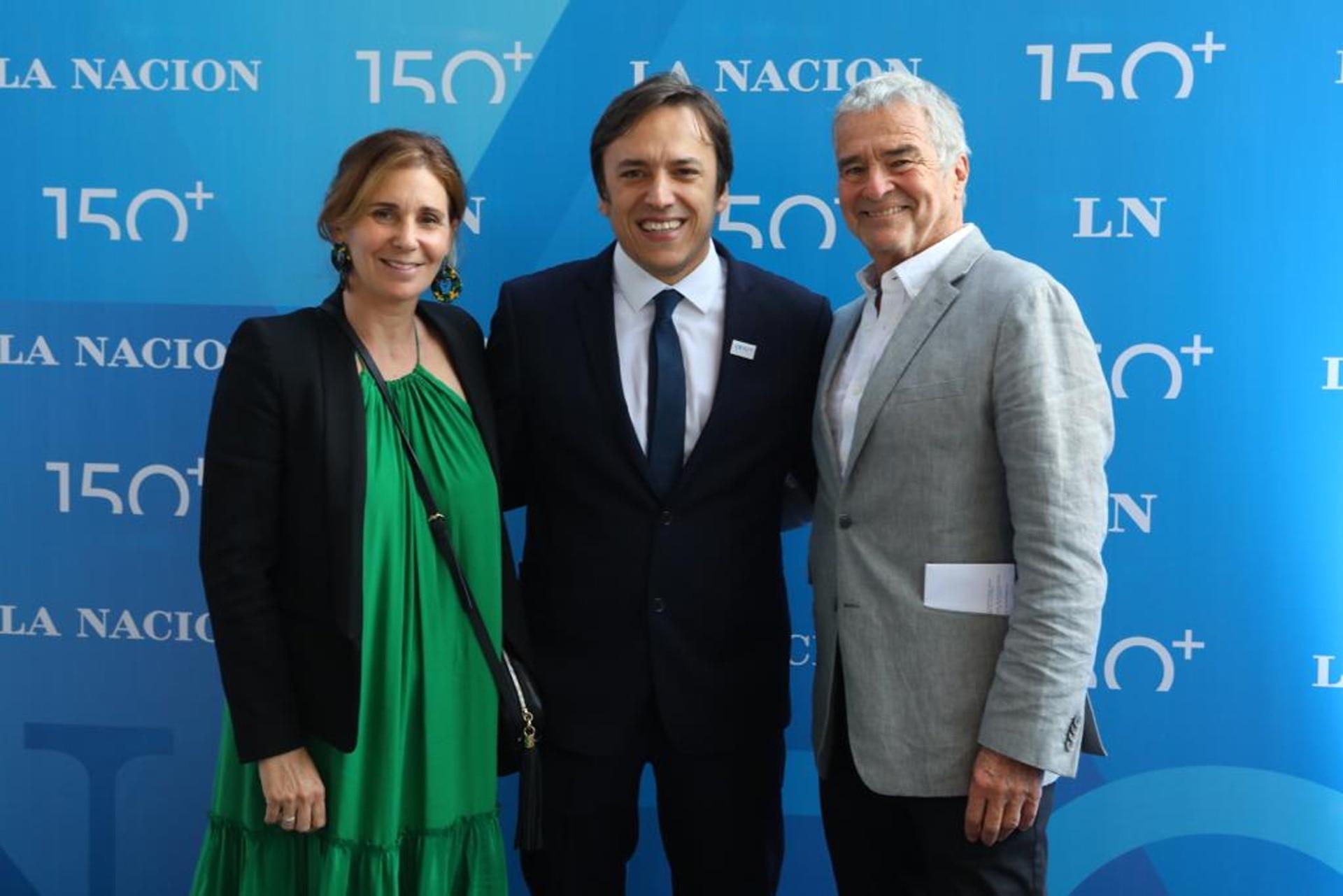 Cecilia González Villanueva, Jose del Rio e Ignacio Viale