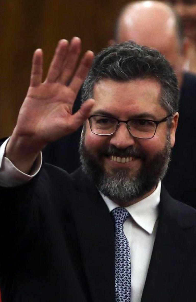 Ministro de Jair Bolsonaro , Ernesto Araujo