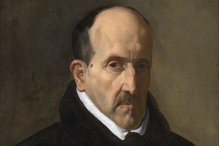 Retrato de Luis De Góngora por Diego Velázquez