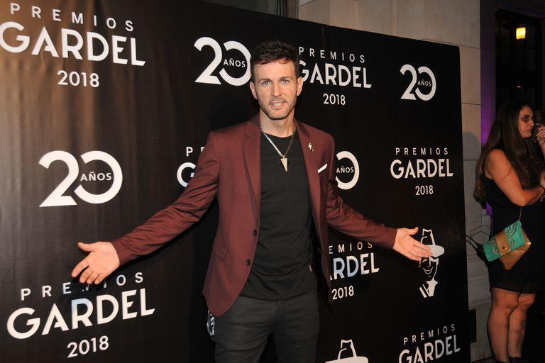 Axel ganó por Canción del año, el único premio en el que participa el público en la votación