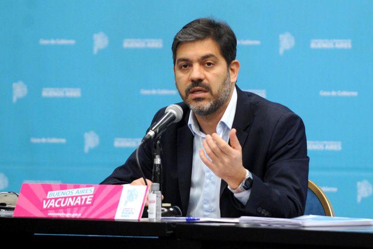 """El gobierno de Kicillof, contra Manes: """"Dice que nunca formó parte del gobierno de Vidal y no es así"""""""