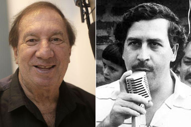 Bilardo mira una serie de Pablo Escobar: cómo fue la relación del DT con el narco en Colombia