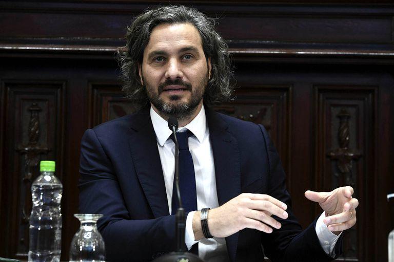 Santiago Cafiero les habló a los que esperan la segunda dosis de Sputnik V