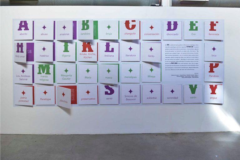 El diccionario machista forma parte de la propuesta de la Kermés en el Museo de la BN