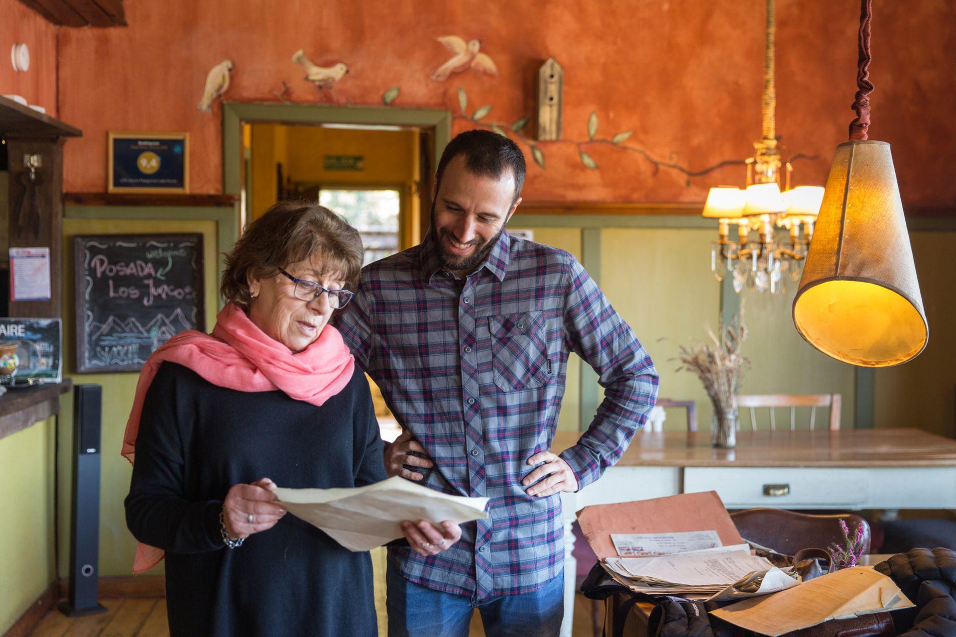 Lucas Bozzano convocó a Albertina Rahm para hacer un documental sobre la hostería.
