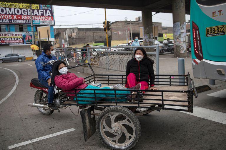 La pandemia expulsó a millones de peruanos al desempleo y agravó la desigualdad social