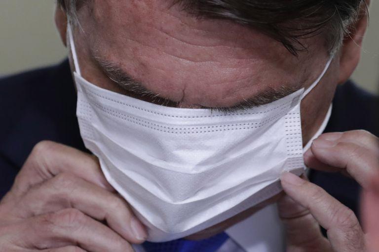 El presidente brasileño Jair Bolsonaro, un rival cada vez más claro de Alberto Fernández