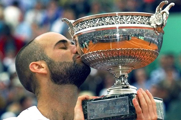 Andre Agassi, campeón de Roland Garros 1999