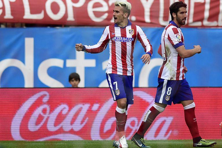 Atlético festeja con una ráfaga de goles