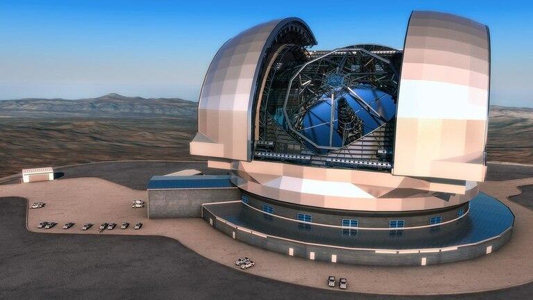 El Telescopio Extremadamente Grande permitirá detectar los elementos que hay en planetas como el Ross 128 b (Ilustración: ESO)