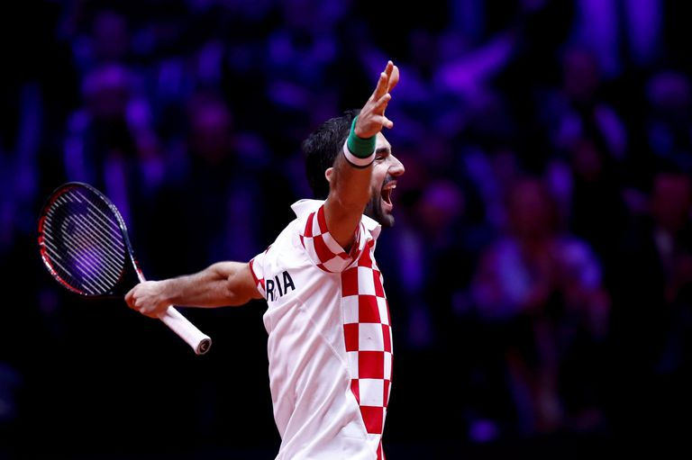 Marin Cilic, la figura de Croacia en la consagración en la Copa Davis