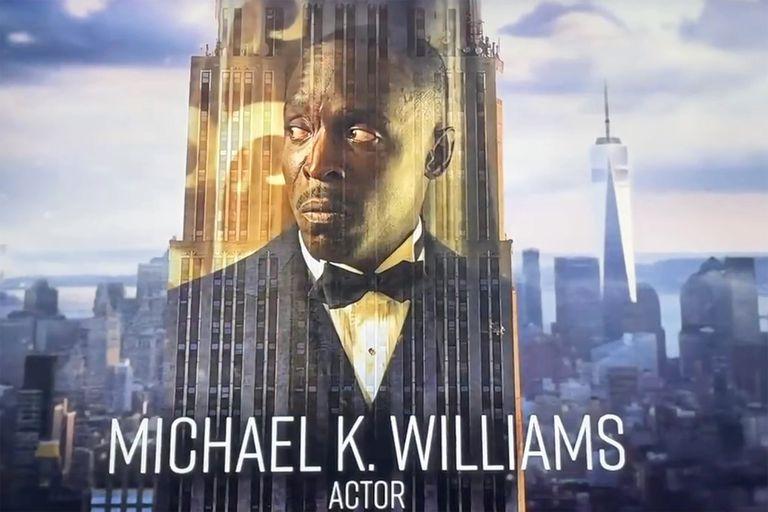 El In Memoriam y el emotivo recuerdo a Michael K. Williams durante la ceremonia