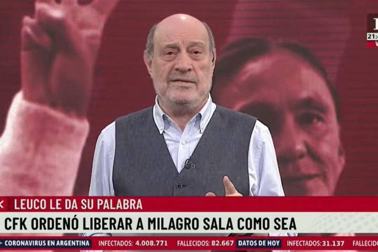 """Alfredo Leuco, sobre Milagro Sala: """"Aprovechó su poder para robar fondos"""""""