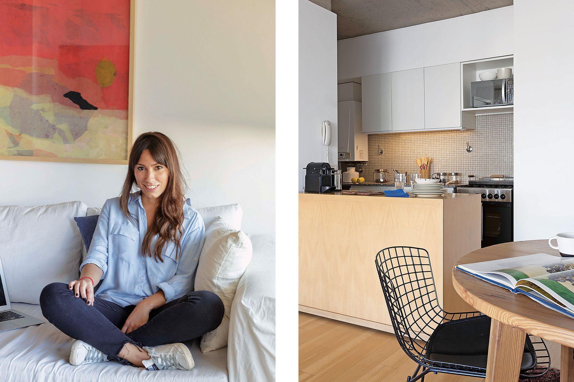 Su nuevo hogar le da impulso a su creciente interés por el coleccionismo de arte.