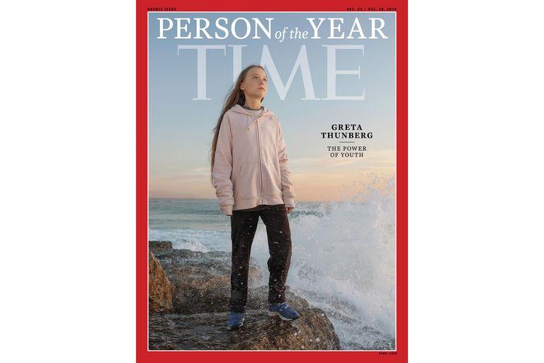La joven activista sueca fue elegida como personaje del año por la revista Time
