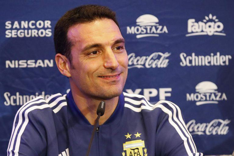 Lionel Scaloni DT de la Selección Argentina