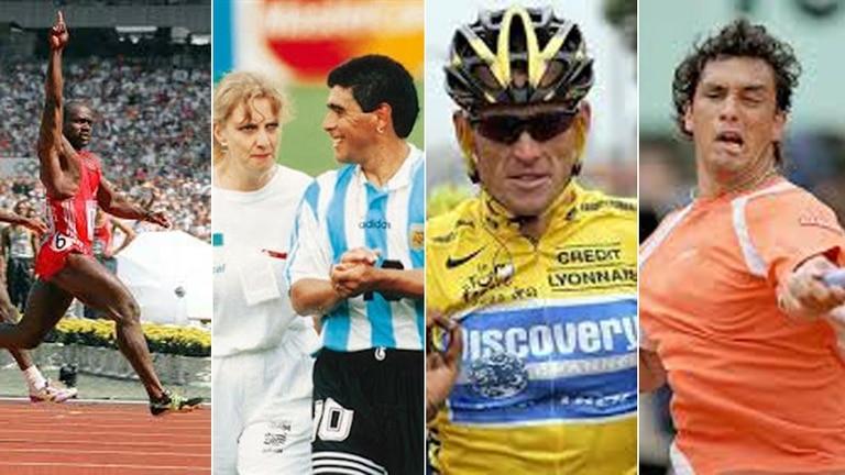 Cuatro casos en la historia del doping mundial