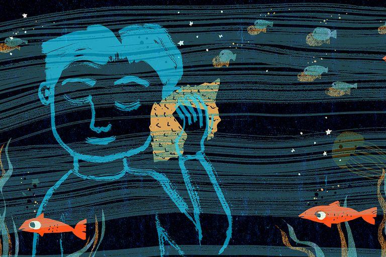 """Ilustración de Isol del poema """"Caracola"""", de García Lorca"""