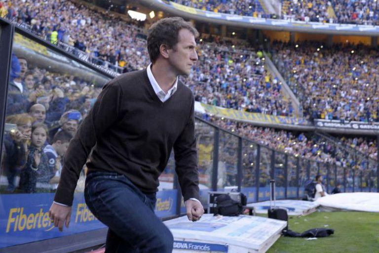 Como entrenador, el 'Vasco' dejó dos títulos en Boca: el torneo local de 2015 y la Copa Argentina 14/15, el mismo torneo que ahora el Xeneize necesita ganar para llegar a la Libertadores 2022