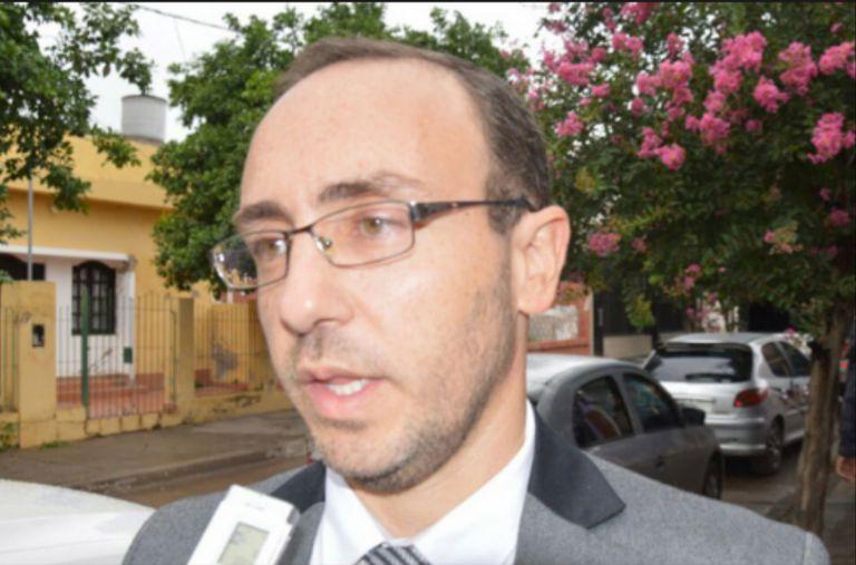 El fiscal Ernesto Lian Resúa